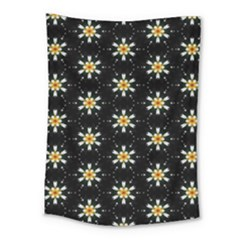 Background For Scrapbooking Or Other With Flower Patterns Medium Tapestry