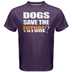 Dogs save the future - Men s Cotton Tee