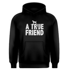 A true friend - Men s Pullover Hoodie