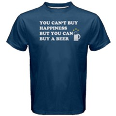 Blue You Can Buy A Beer  Men s Cotton Tee