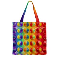 Background For Scrapbooking Or Other Zipper Grocery Tote Bag