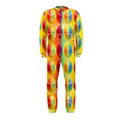 Background For Scrapbooking Or Other OnePiece Jumpsuit (Kids)