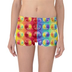 Background For Scrapbooking Or Other Reversible Bikini Bottoms