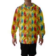 Background For Scrapbooking Or Other Hooded Wind Breaker (kids)