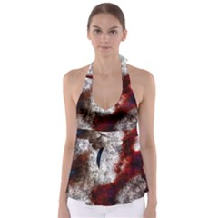 Background For Scrapbooking Or Other Babydoll Tankini Top