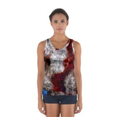 Background For Scrapbooking Or Other Women s Sport Tank Top