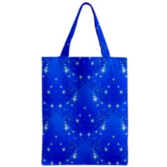 Background For Scrapbooking Or Other With Snowflakes Patterns Zipper Classic Tote Bag