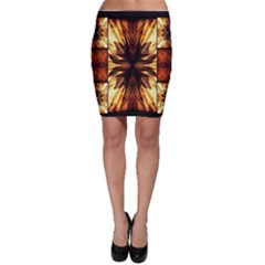 Background Pattern Bodycon Skirt