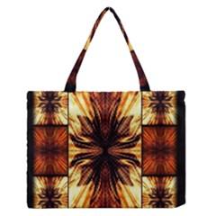 Background Pattern Medium Zipper Tote Bag