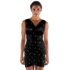 After The Party Wrap Front Bodycon Dress