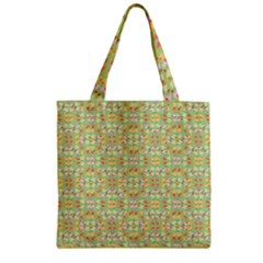 Alien Outbreak Zipper Grocery Tote Bag