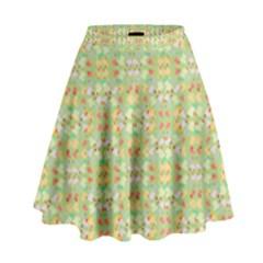 Alien Outbreak High Waist Skirt