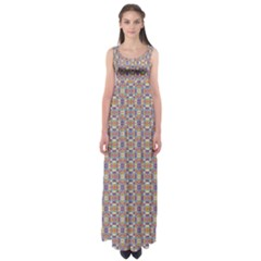 Blob Mania Empire Waist Maxi Dress