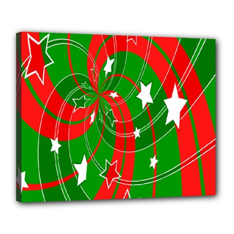 Background Abstract Christmas Canvas 20  x 16