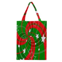 Background Abstract Christmas Classic Tote Bag