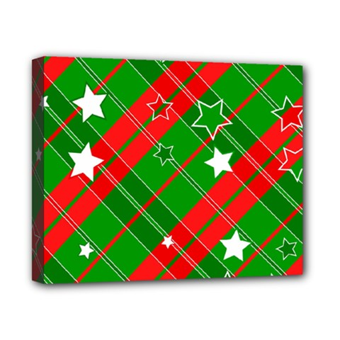 Background Abstract Christmas Canvas 10  x 8
