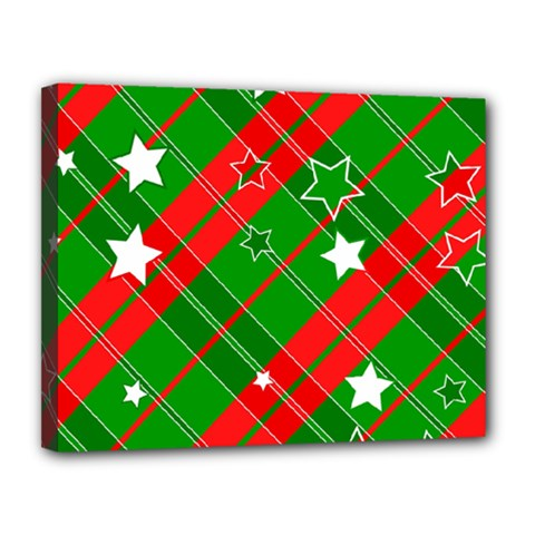 Background Abstract Christmas Canvas 14  X 11
