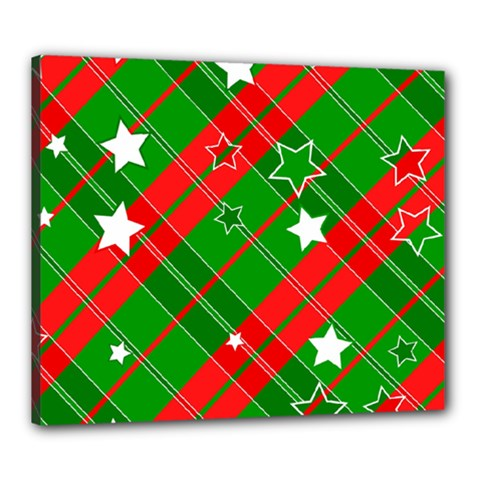 Background Abstract Christmas Canvas 24  x 20
