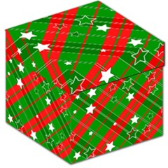 Background Abstract Christmas Storage Stool 12