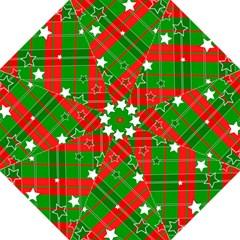 Background Abstract Christmas Hook Handle Umbrellas (medium)