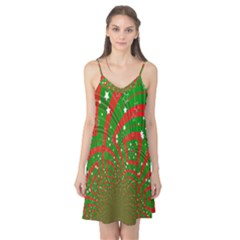 Background Abstract Christmas Pattern Camis Nightgown
