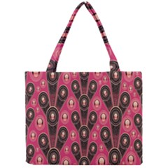 Background Abstract Pattern Mini Tote Bag