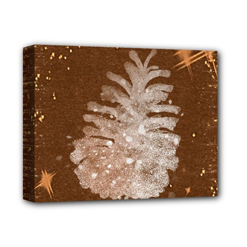 Background Christmas Tree Christmas Deluxe Canvas 14  x 11
