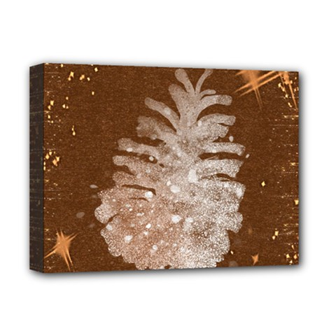 Background Christmas Tree Christmas Deluxe Canvas 16  x 12