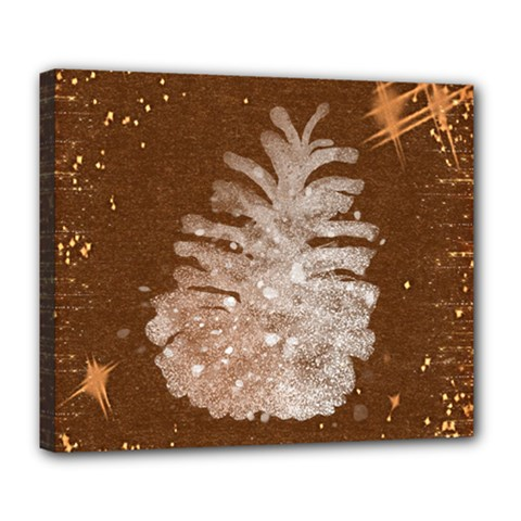Background Christmas Tree Christmas Deluxe Canvas 24  X 20
