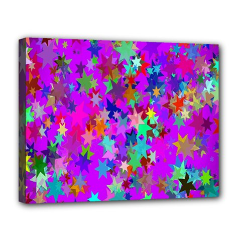 Background Celebration Christmas Canvas 14  x 11