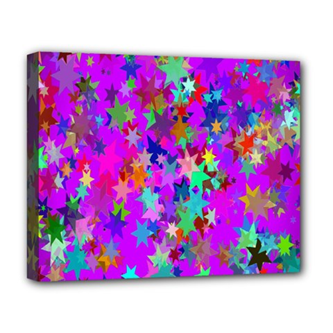 Background Celebration Christmas Deluxe Canvas 20  x 16
