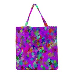 Background Celebration Christmas Grocery Tote Bag
