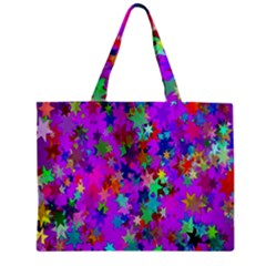 Background Celebration Christmas Zipper Mini Tote Bag