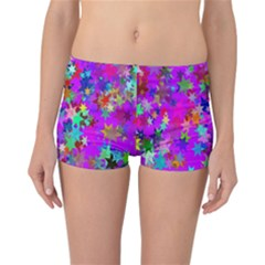 Background Celebration Christmas Reversible Bikini Bottoms