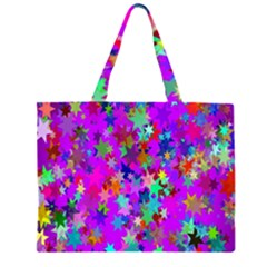 Background Celebration Christmas Zipper Large Tote Bag