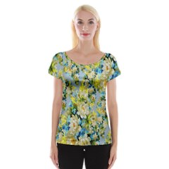 Background Backdrop Patterns Women s Cap Sleeve Top