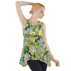 Background Backdrop Patterns Side Drop Tank Tunic