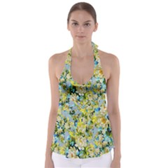 Background Backdrop Patterns Babydoll Tankini Top
