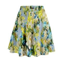 Background Backdrop Patterns High Waist Skirt