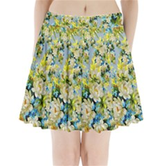 Background Backdrop Patterns Pleated Mini Skirt