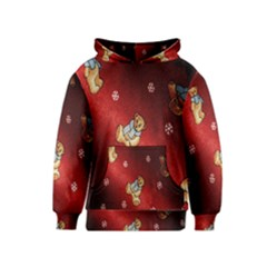 Background Fabric Kids  Pullover Hoodie