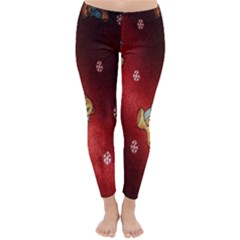 Background Fabric Classic Winter Leggings