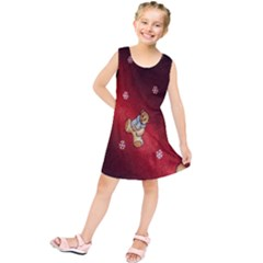 Background Fabric Kids  Tunic Dress