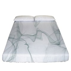 Background Modern Computer Design Fitted Sheet (king Size)