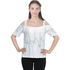 Background Modern Computer Design Women s Cutout Shoulder Tee