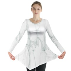 Background Modern Computer Design Long Sleeve Tunic