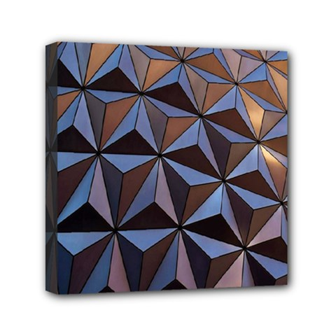 Background Geometric Shapes Mini Canvas 6  x 6