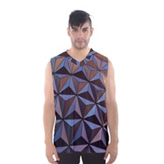 Background Geometric Shapes Men s Basketball Tank Top
