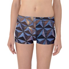 Background Geometric Shapes Boyleg Bikini Bottoms