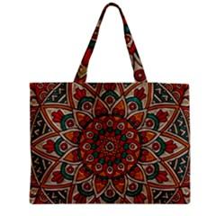 Background Metallizer Pattern Art Medium Tote Bag